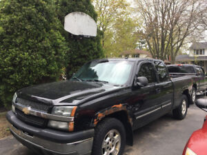 2003 Silverado LT for parts or do the body and drive it