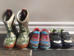Size 8 - Bogs, Under Armour and Joe Fresh