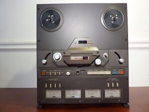 TASCAM 34 Reel to Reel Tape Deck