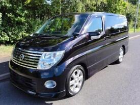 2007 Nissan Elgrand 2500 HIGHWAY STAR HI GRADE FRESH IMPORT 5dr