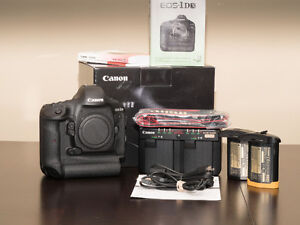 Canon EOS 1DX Body DSLR Camera < 22K Activations + BOX & Accys