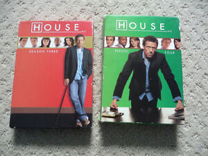 House on DVD - Season 3 & 4