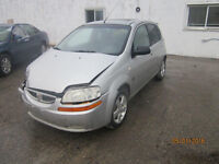 JUST IN FOR PARTS! 2007 PONTIAC WAVE @ PICNSAVE WOODSTOCK!