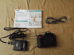 Nikon D7000 - Body and 64GB Sandisk SDXC card