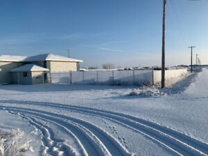 NEW OFFICE, AND/OR , 1/2 ACRE FENCED, 3 ACRES UNFENCED, BROOKS