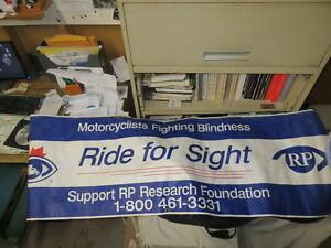 RIDE FOR SIGHT banner 2001