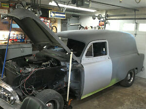 1953 chevrolet sedan delivery project