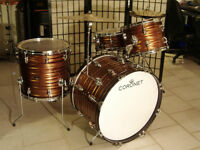 WANTED CORONET OR SEWART DRUMS IN ROOT BEER SWIRL
