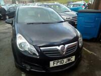 Vauxhall Corsa 1.4i 16v 100ps ( a/c ) SRi 5 DOOR - 2010 10-REG - FULL MOT