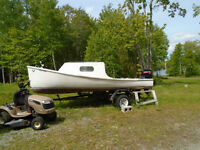 19 Foot Cape Island With Trailer