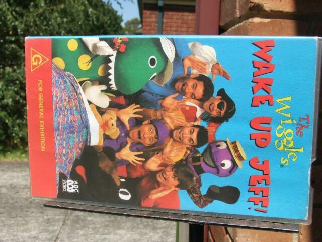 The Wiggles Wake Up Jeff Vhs Video Other Home Amp Garden