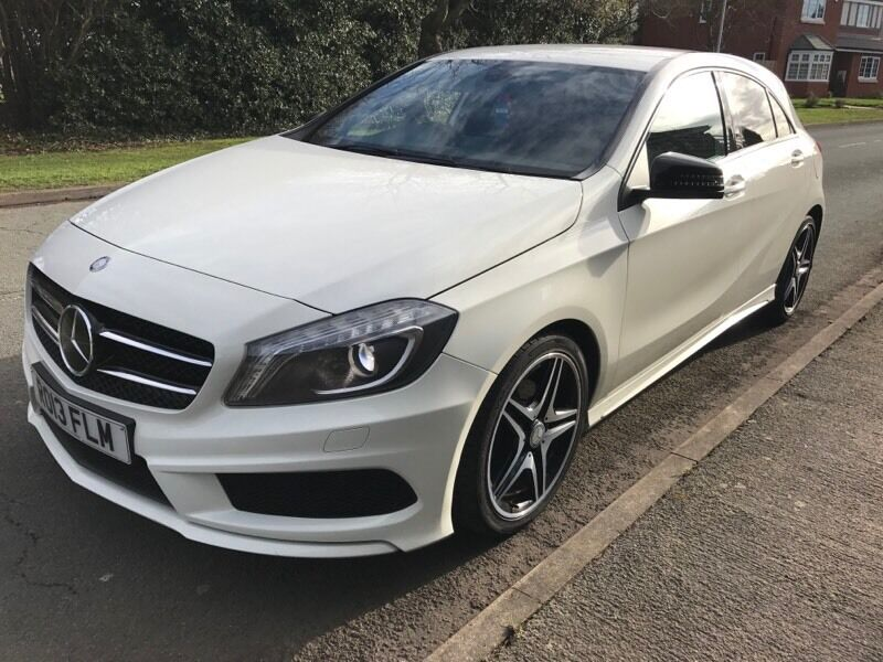 2013 mercedes a200 sport amg automatic 5 door white px a class in castle bromwich west. Black Bedroom Furniture Sets. Home Design Ideas
