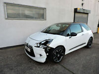 11 Citroen DS3 1.6e-HDi Airdream DStyle Plus Damaged Salvage Repairable