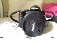 Nikon D5000 - comes with UV Filter