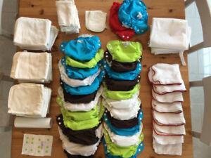 AppleCheeks Cloth Diaper Stash!