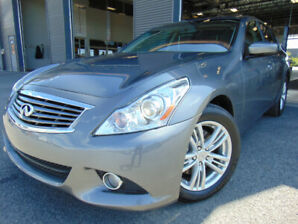 INFINITI G37X 2013  TECH-PACKAGE IN EXCELLENT CONDITION!