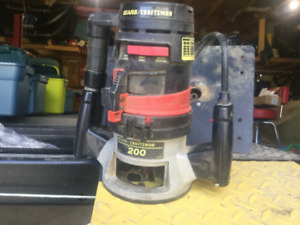 Router table insert kijiji in ontario buy sell save with craftsman plunge router greentooth Choice Image