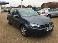 2009 Volkswagen Golf 2.0TDI CR ( 110ps ) SE + FULL VW SERVICE AND NEW CLUTCH