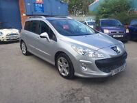 2008 PEUGEOT 308 2.0 HDI SPORT ESTATE # GENUINE LOW 42,000 MILES! PAN ROOF!GREAT WORKHORSE # CAT C