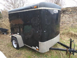 """UNITED 5x8 Enclosed Cargo Trailer with 69"""" interior height"""
