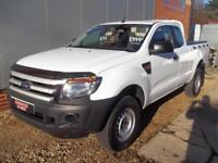 £ 52 A WEEK - 2014 64 REG FORD RANGER 2.2 NEW SHAPE XL 4X4 KING CAB 148HP PICKUP