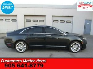 2014 Lincoln MKZ Base  4X4 (NEW TIRES) ADAP-CC CW NAV PANO-ROOF