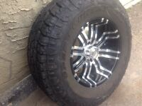 (One new) 35x17 toyo open country (willing to trade)