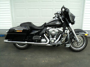 2009 Harley-Davidson Ultra Street glided out