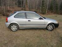 1997 Honda Civic manuel hadjback