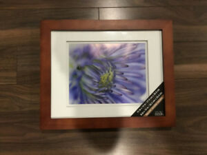 2 Picture Frames 11X14 with 8X10 Matte