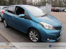 TOYOTA YARIS 2011 Manual 64599 Petrol Turquoise Petrol Manual in Turquoise