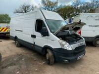 2012 Iveco Daily 2.3hpi 35s13 6 speed xlwb high roof camper race van spares or r