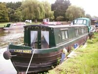 Dream narrow boat for sale 42 ft