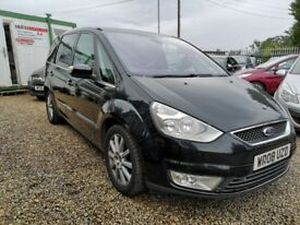 Ford Galaxy GHIA TDCI (black) 2008