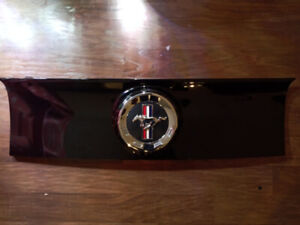 Mustang trunk deck lid trim panel with Emblem Like new