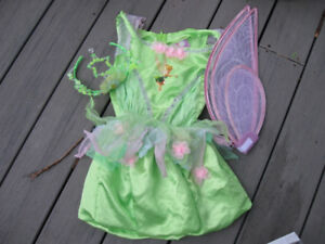 New Tinkerbell size 3-4T  costume