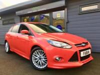 2013 Ford Focus 1.0 EcoBoost Zetec S *RED - Privacy Glass - FSH*