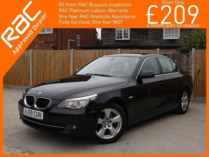 2009 BMW 5 Series 520d Turbo Diesel 177 PS SE Business Edition 6 Speed Auto Sat