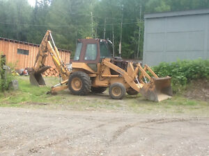 Case Loader/Backhoe