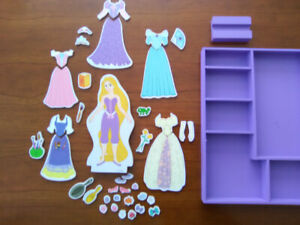 Melissa and Doug wooden dress-up doll set, Rapunzel