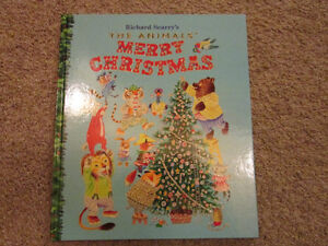 Richard Scarry's The Animals' Merry Christmas.