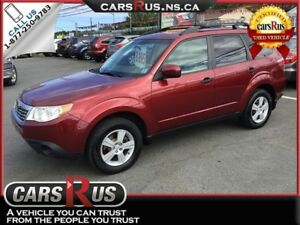 2010 Subaru Forester AWD 2.5X  NO TAX sale on now....1 week only