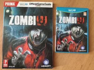WiiU ZombiU guide officiel-10$ - jeu ZombiU - 10$