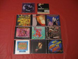 Lot de 11 CD de musique