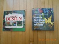 GENTLY USED GARDEN DESIGN AND GARDENING BOOKS