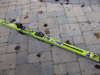 Rossignol 7S skis with Marker Titanium M51 bindings