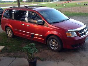 2008 Dodge Caravan Sxt Minivan, Van