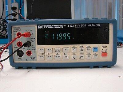 Bk Precision 5492 5 12 Digit Bench Multimeter