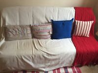 Sofa bed double with full mattress