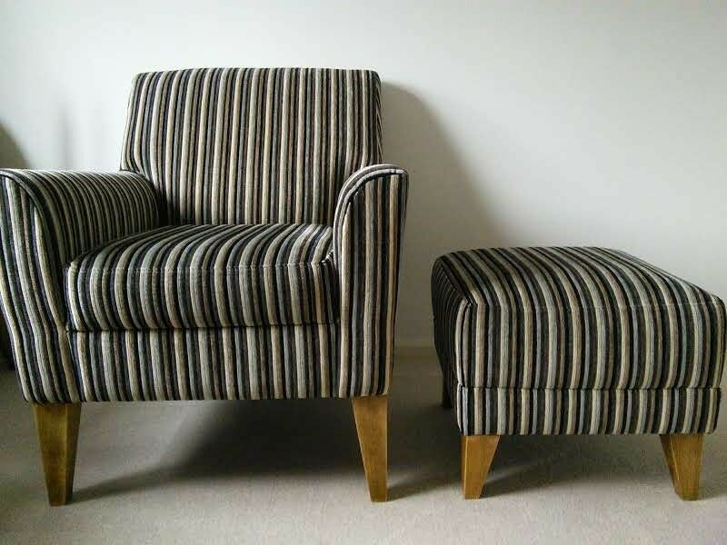 Next Armchair And Footstool For Sale In Enfield London Gumtree